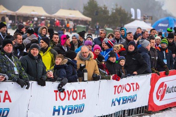 Organizatorių nuotr./Winter Rally