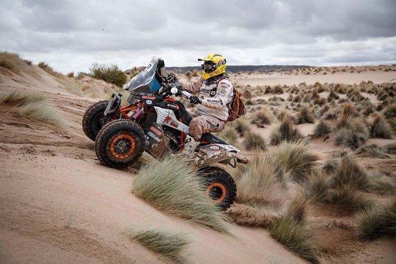 """Komandos nuotr./Dakaro dalyvis Keesas Koolenas iš """"Maxxis Team"""" komandos"""