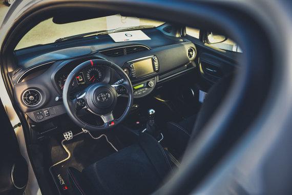 """Vytauto Pilkausko nuotr./""""Toyota Yaris GRMN"""""""