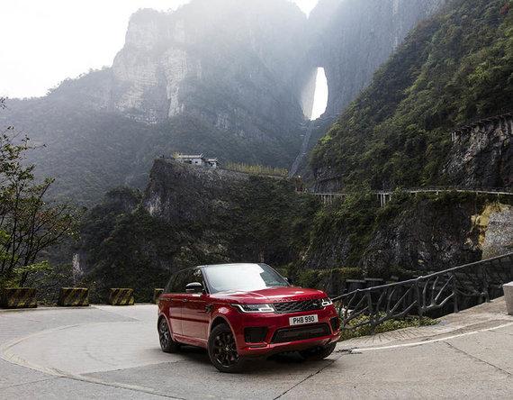 """Bendrovės nuotr./""""Land Rover Range Rover Sport"""" teko neįtikėtinas iššūkis"""