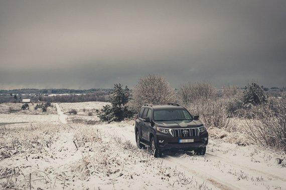 Vytauto Pilkausko nuotr./Toyota Land Cruiser