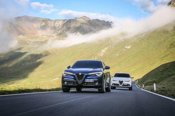 """Gamintojo nuotr./""""Alfa Romeo Stelvio"""""""