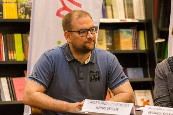 """Svajūno Stroino nuotr./Juras Veželis, """"Sportland LT"""" vadovas"""
