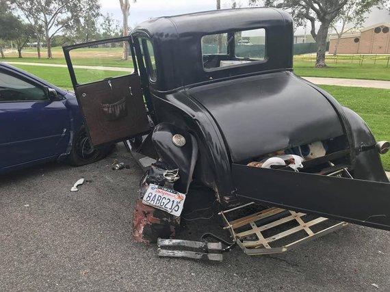 "William Smith nuotr./Suniokotas istorinis ""Ford Model A"""