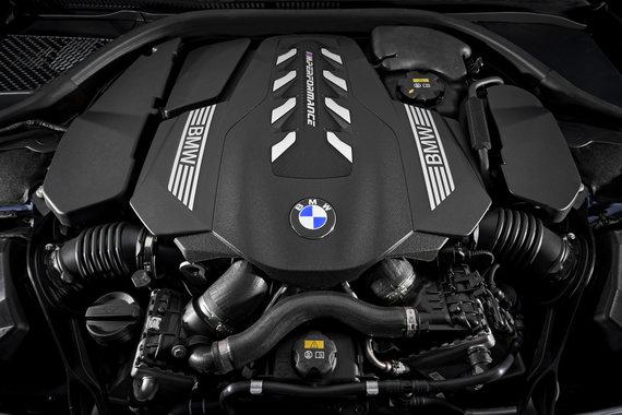 Gamintojo nuotr./Naujasis 8 serijos BMW kupė