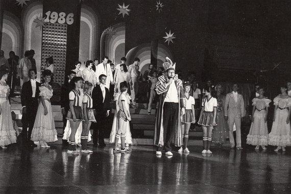 Asmeninio albumo nuotr. /Virgis Stakėnas (Kaunas Hale. NM reviu2, 1985 m.)