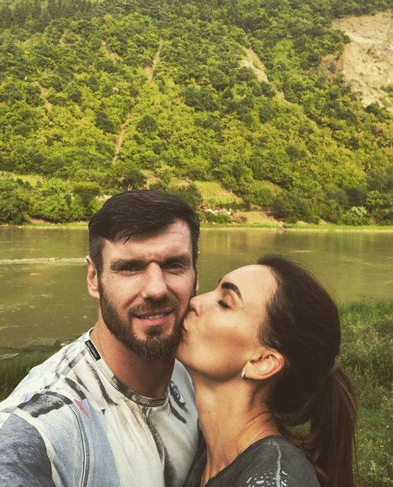Asmeninio albumo nuotr. /Kšištofas ir Tatjana Lavrinovičiai