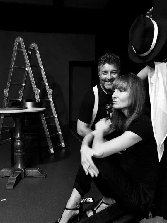 Asmeninio albumo nuotr. /Eduardo Gimenezas ir Agnė Sabulytė