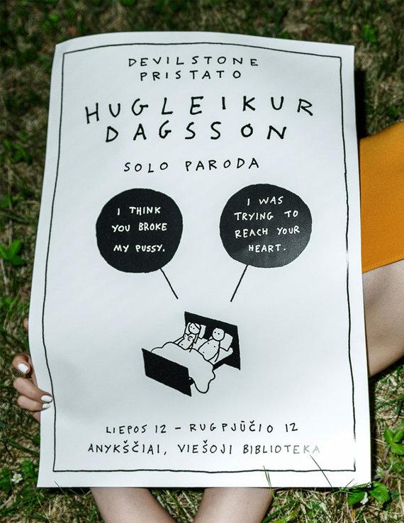Asmeninio albumo nuotr. /Hugleikuro Dagssono darbai