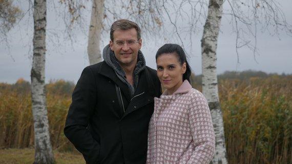 Karolio Kalvaičio nuotr. /Modestas Pitrėnas su žmona Ieva