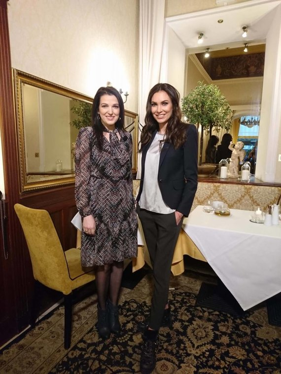 TV3 nuotr. /Kristina Rimienė ir Tatjana Lavrinovič
