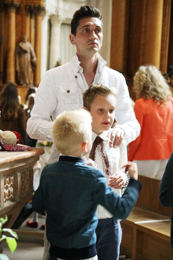 Rūtos Matilionytės/Deividas Česnauskis su vaikais