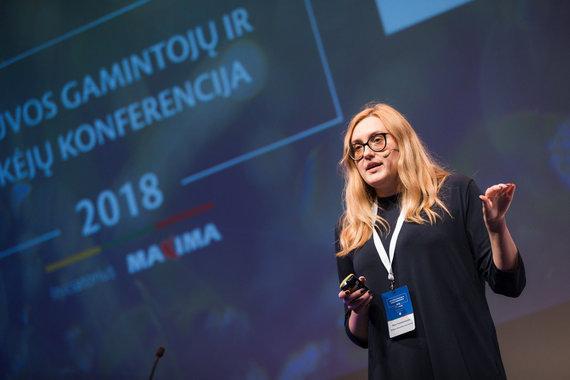 """Akimirka iš """"Lietuvos gamintojų ir tiekėjų konferencijos""""/Rasa Tamuševičiūtė"""
