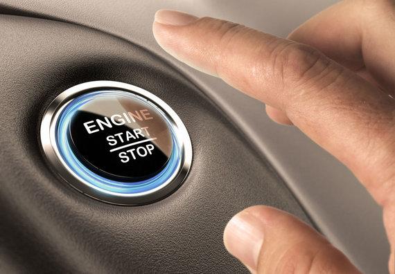 123RF.com nuotr./Užvedimo mygtukas