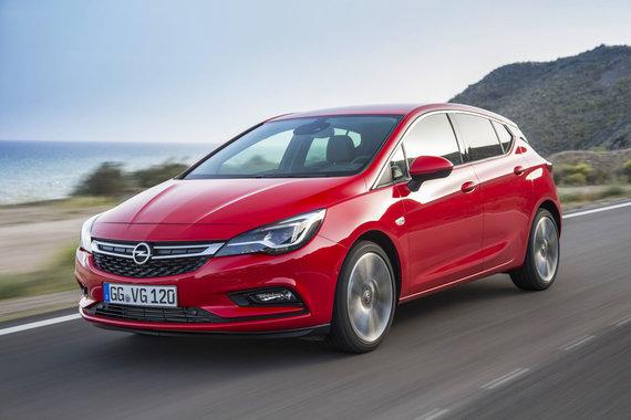 """Gamintojo nuotr./Naujoji """"Opel Astra"""""""