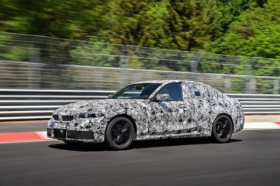 Gamintojo nuotr./Naujas BMW 3