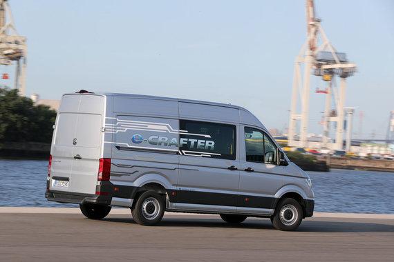 "Gamintojo nuotr./Elektrinis ""Volkswagen e-Crafter"""