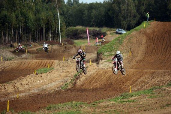 """LMSF nuotr./""""Nissan Lietuvos motociklų kroso čempionatas"""""""