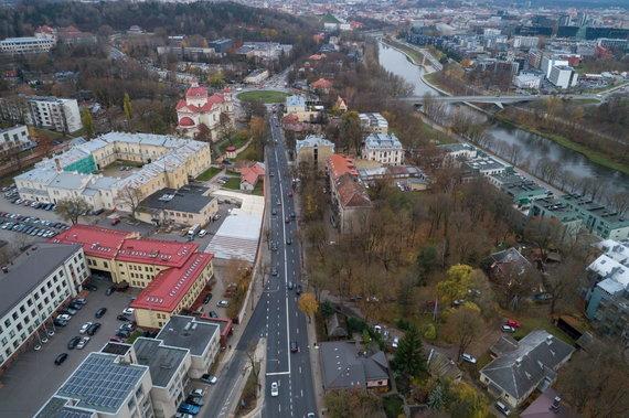 Sauliaus Žiūros nuotr./Antakalnio gatvė Vilniuje