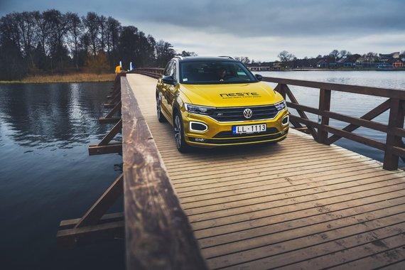 "Lietuvos žurnalistų autoklubo nuotr./""Volkswagen T-Roc"""