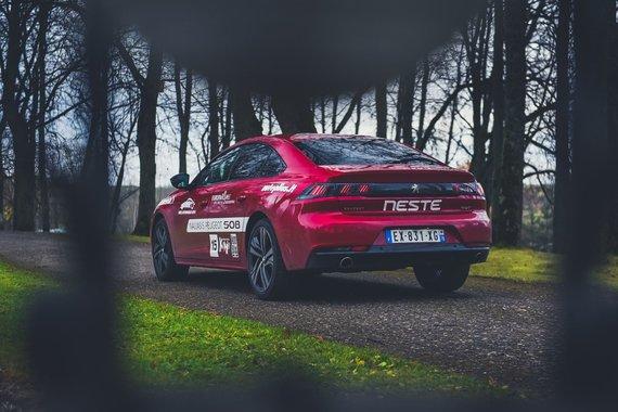 "Vytauto Pilkausko nuotr./""Peugeot 508"""