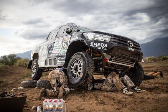 Edgaro Buiko nuotr./Svarbiausi įrankiai Dakaro ralyje