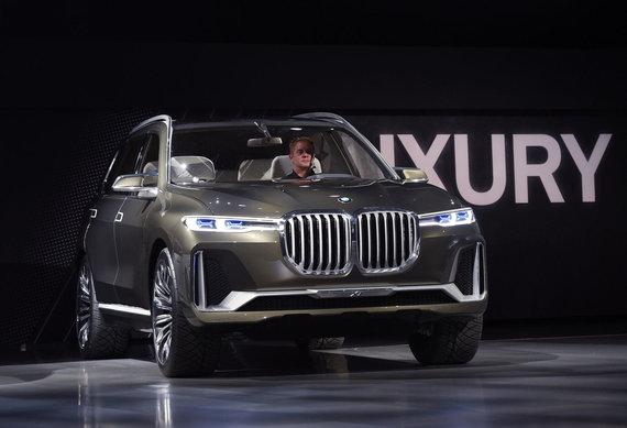 "AFP/ Scanpix nuotr/""BMW X7"""