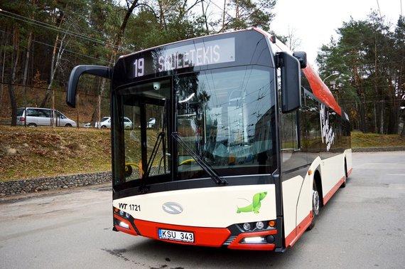Vilniaus viešojo transporto nuotr./Naujas troleibusas