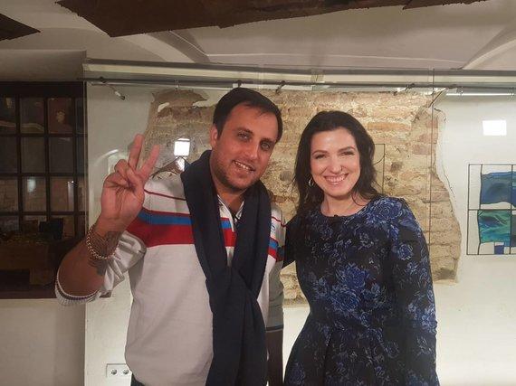 TV3 nuotr./Radžis ir Kristina Rimienė