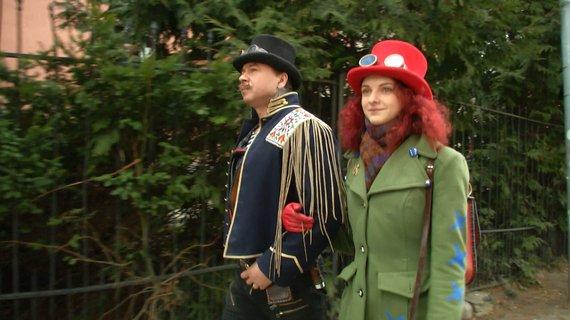 LNK nuotr./Donatas Dubauskas ir Greta Barkauskaitė