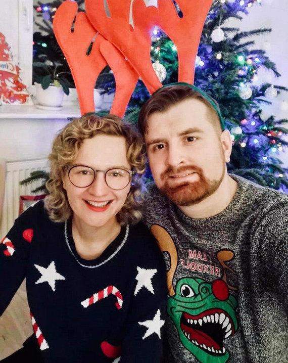 Asmeninio albumo nuotr./Aušrinė Armonaitė su vyru Edgaru