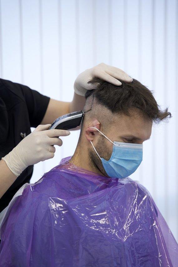 """""""Hair Clinic"""" nuotr./Vaidas Baumila"""