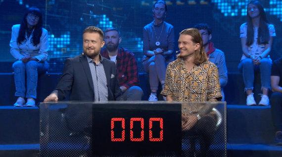 TV3 stopkadras/Mantas Katleris ir Jonas Nainys