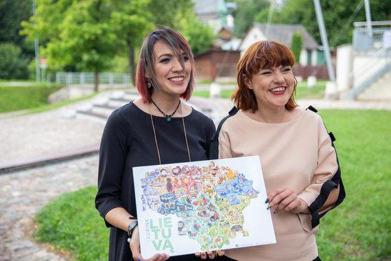 Josvydo Elinsko / 15min nuotr./Eglė Zubkovienė ir Lina Baublienė