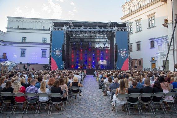 Josvydo Elinsko / 15min nuotr./Alinos Orlovos koncerto akimirka