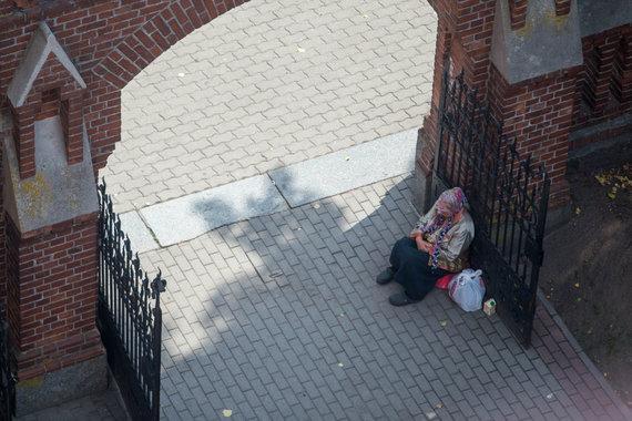 Josvydo Elinsko / 15min nuotr./Marytė prie Palangos Švč. Mergelės Marijos Ėmimo į dangų bažnyčios