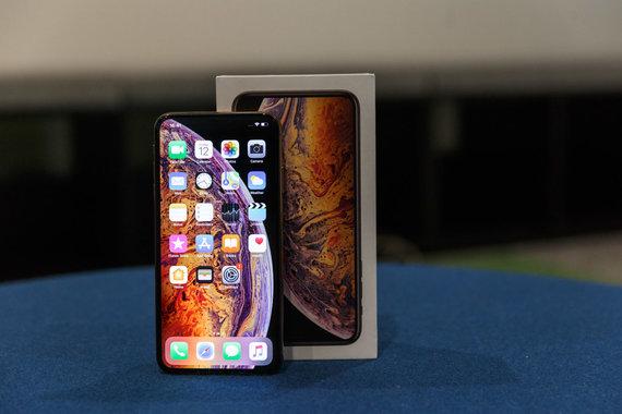 "Josvydo Elinsko / 15min nuotr./""iPhone Xs Max"" 256GB"