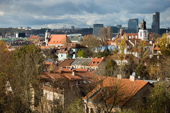 Josvydo Elinsko / 15min nuotr./Vilniaus miesto gamta numeta rudeninius lapus