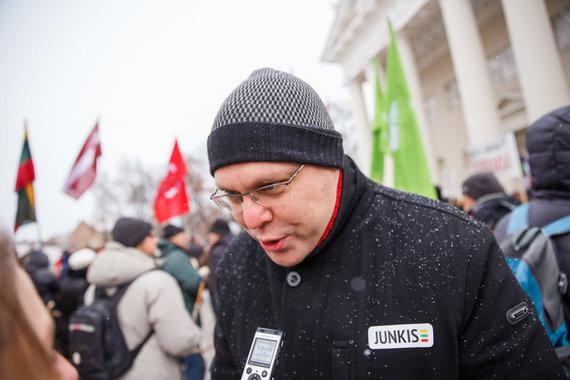 Josvydo Elinsko / 15min nuotr./Eitynės prieš plynus kirtimus