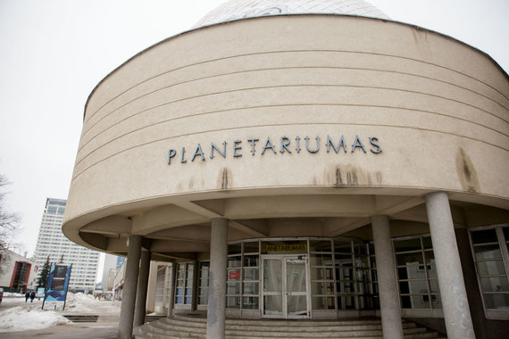 Josvydo Elinsko / 15min nuotr./Vilniaus universiteto planetariumas