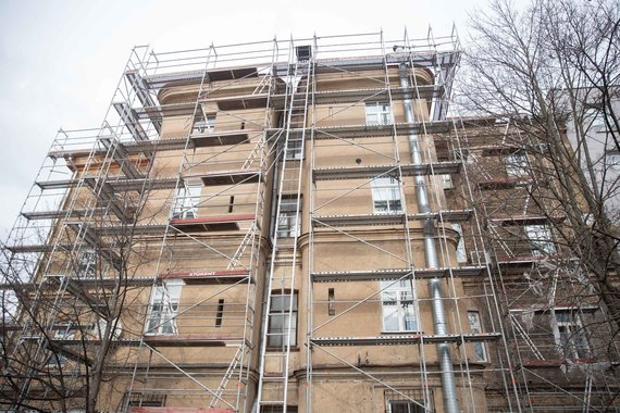 Josvydo Elinsko / 15min nuotr./Namas, paruoštas renovacijai