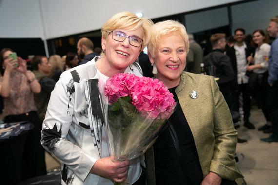 Josvydo Elinsko / 15min nuotr./Ingrida Šimonytė ir Irena Degutienė