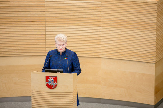 Josvydo Elinsko / 15min nuotr./Dalia Grybauskaitė
