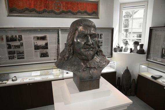 Vladislavo Vazos biustas. Merkinės muziejus