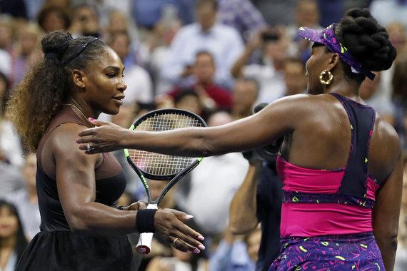 """Scanpix""/AP nuotr./Seserys Williams 2018 metų ""US Open"" turnyre"