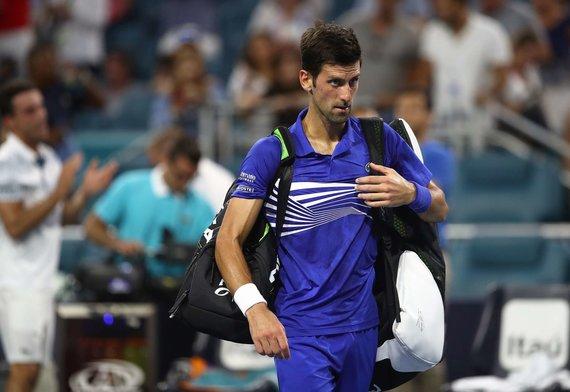 """AFP/""""Scanpix"""" nuotr./Novakas Džokovičius"""