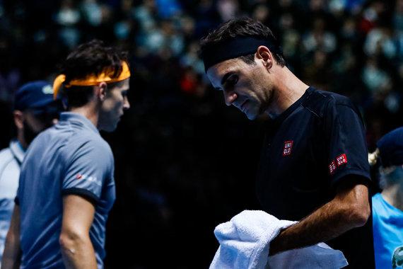 """Scanpix""/""PA Wire""/""Press Association Images"" nuotr./Dominicas Thiemas ir Rogeris Federeris"