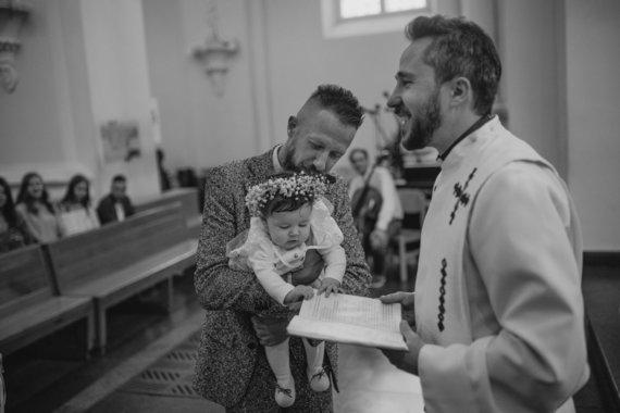 """Druska photography"" nuotr./Linas Adomaitis su dukra Saule"