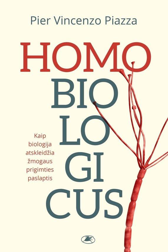 "Knygos viršelis/""Homobiologicus"""