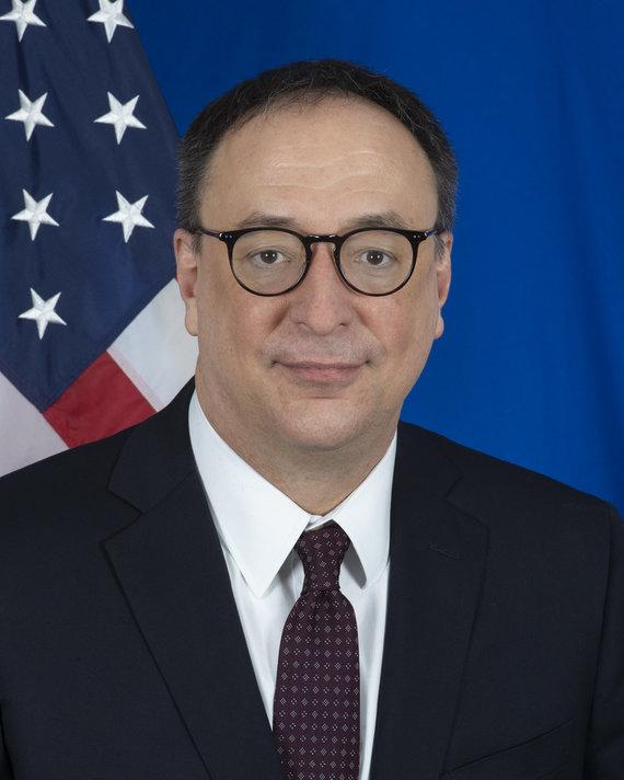 Asmeninio archyvo nuotr./Robert Gilchrist – JAV ambasadorius Lietuvoje